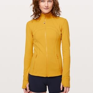 Yellow Lululemon Define zip front Luon jacket 4